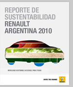 Renault Argentina Sustainability Report 2009-2010